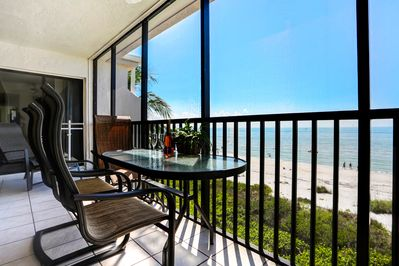 Lanai with Spectacular, Unobstructed Views overlooking the Gulf of Mexico
