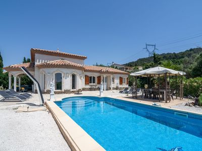 Photo for Cozy Villa in Oupia with Private Pool
