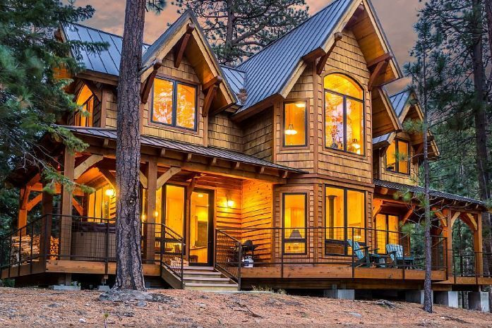 Romantic Luxury Cabin In A Spectacular Pri Homeaway