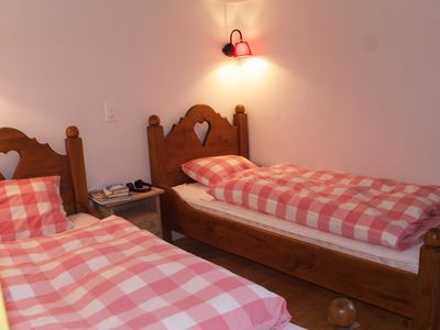 Photo for Renovated, authentic Chalet L'Ourson in the heart of the old village of Grimentz