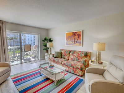 Photo for Lovely Condo w/Private Balcony, Pool, Gym, Private Beach Access, & More!