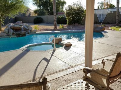 Photo for Private Heated Pool & Spa - Putting Green - Huge Yard - Great Location