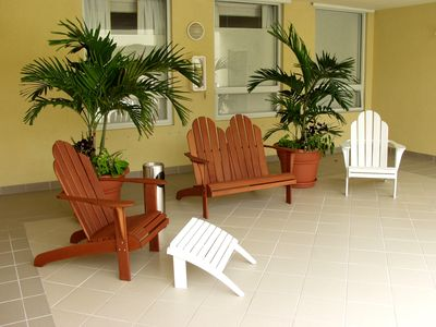Large two bedrooms - one bath in the heart of Coconut Grove, Miami, Florida