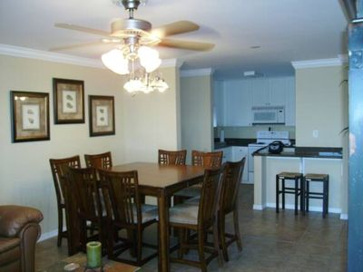Photo for Great 3 Bedroom 2 Bath Condo! Boat docks, Pier and 50 yards to Gulf!