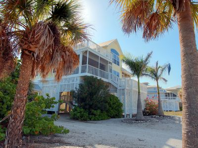 Photo for Surfsong on South Gulf Blvd : Beautiful 3 bedroom home with great beach views!