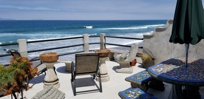 Photo for FAMILY HOME ON THE BEACH, SLEEPS 12 + 4 kids, WIFI  CABLE, GOLF, ROSARITO 3 MILE