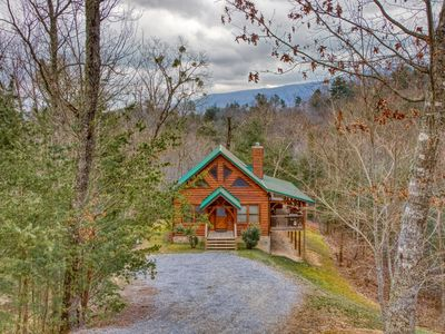 Photo for Nestled high above Wears Valley in a wooded setting, very secluded.