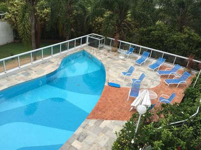 Photo for Apt 2 suites, excellent location, 100m meters from the beach, 2 places, full leisure