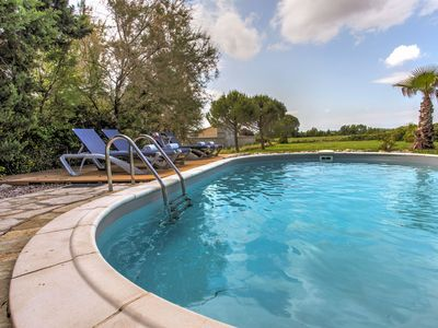 Photo for Charming Villa in Siran with Pool