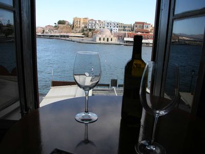 Photo for Gallini Port View, Sea Front Apartment ON THE PORT