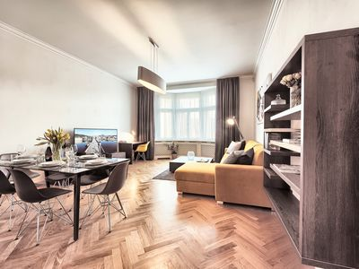 Modern and Spacious Two-Bedroom Apartment in the Centre - Milosrdnych