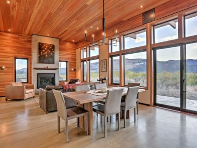 Photo for Breathtaking Winthrop Home w/ Mtn Views by River