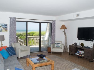 Photo for 4BR Oceanfront Condo with Private Beach Access and Swimming Pools!