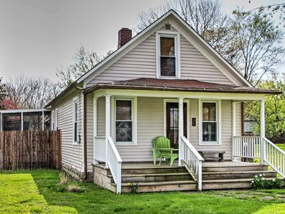 Photo for 2BR Three Oaks House w/Extensive Yard!