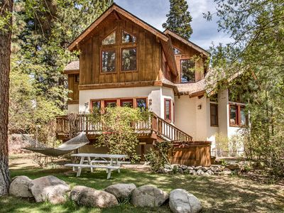 Photo for Cabin-esque Tahoe City House in Desirable Dollar Point Area