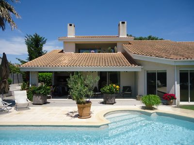 Photo for SPACIOUS VILLA WITH POOL, GOLF AND TENNIS IN PRIVATE SECURE AREA