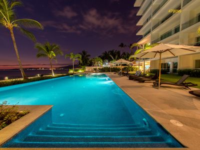 Photo for Bucerias, 3 Bdr Beachfront Condo,  Canadian! Ask about our fair exchange rate