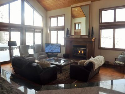 Photo for Vail Alpine Home with Panoramic Views, Open Concept, Hot Tub and Garage