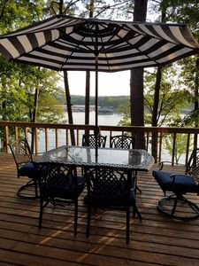 Photo for New Listing! Lakefront home on the Narrows at Greers Ferry Lake!