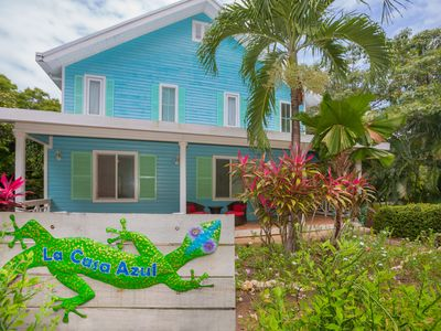 Photo for a real home you can enjoy just off the beach, Casa Azul located in Lawson Rock