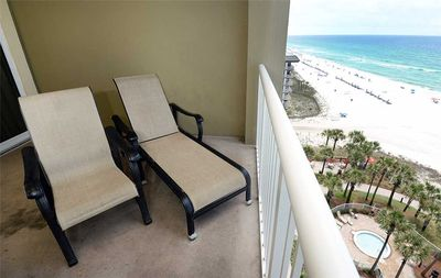 Relax. Unwind. Reset. - The balcony makes the ideal spot to relax and unwind after a long day of exploring the local shops and attractions of Panama City Beach.
