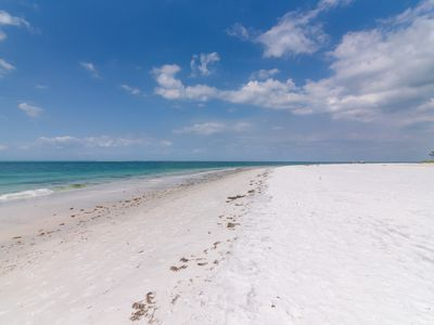 Photo for FantaSea - Gulf Front/large heated pool/golf cart/bikes/paddle boards/beach volleyball