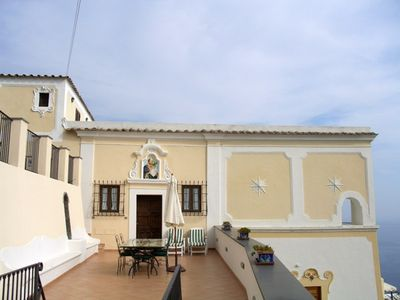 Photo for Ancient Villa with fantastic sea view and swimming pool just minutes from Positano
