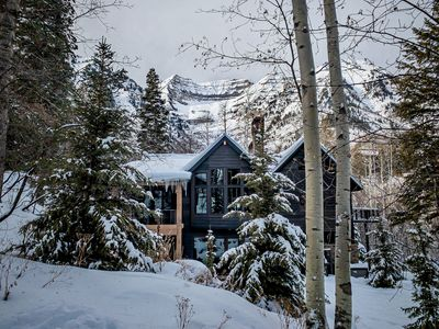 Photo for Luxury Treetop Chalet- Steps to the Slopes, Fireplaces, Walk to Sundance