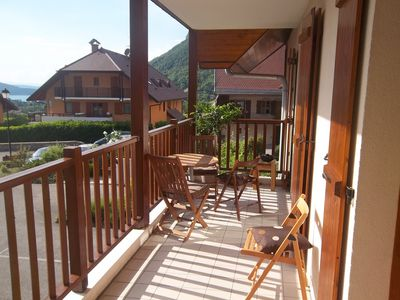 Photo for Nice Apartment near ANNECY LAC Menthon Saint Bernard - 6 persons