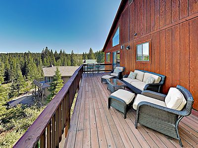 Photo for Tahoe Donner Paradise w/ Private Hot Tub - Near Skiing, Hiking & Lake Fun!