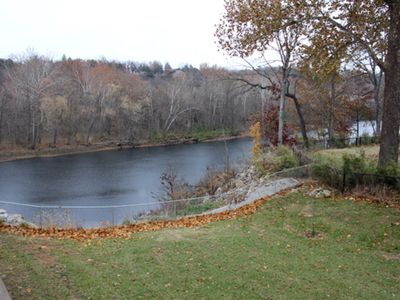 Photo for Condo on the Banks of Lake Taneycomo. Nearby Marina and Boat Rental. Throw out a line! Pool 1 block.
