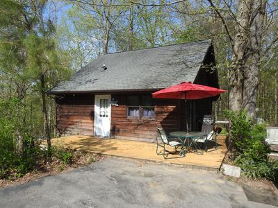 Photo for Pine Cabin on 30 Acres! 1 mi. from Carbondale, IL & SIUC Campus