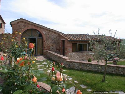 Photo for 2BR Apartment Vacation Rental in Sovicille, Siena