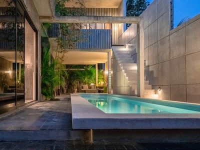 Photo for CASA T - Architecture Award-Winning 3 Suite Villa with Pool
