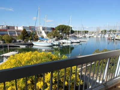 Photo for Apartment Port Camargue, 2 bedrooms, 5 persons