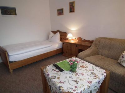 Photo for Single Room, Satellite TV, Shower, Toilet - Pension Zum Ochsenkopf