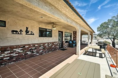 This lovely vacation rental features great outdoor spaces!