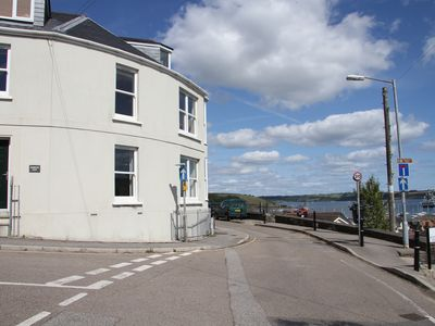 Photo for Modern, Spacious, Light Falmouth Town House - Sea View - 2 mins from town centre