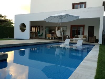 Photo for Beautiful house in Barra de São Miguel - 50m from the beach -4 suites - swimming pools -12 people