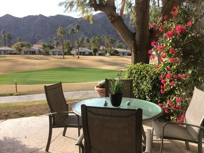 Photo for PGA WEST CONDO ON GOLF COURSE WITH MOUNTAIN VIEWS .