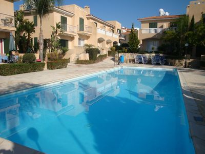 Photo for Polis Gardens 2 bedroom Townhouse with large communal pool garden and WiFi