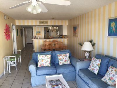 Photo for Great Location! Pool,  Restaurant, 59 steps to Beach!