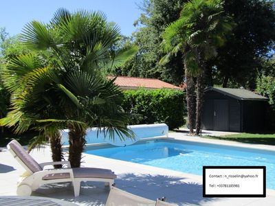 Photo for Villa between Bassin d'Arcachon and Cap Ferret