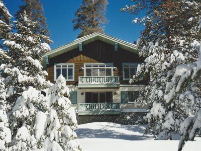 Photo for Alpine Chalet – modern, spacious mountain charm in Kirkwood East Meadows