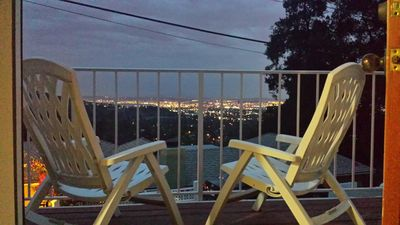 Stunning views of Los Angeles from the hillside village of Sierra Madre