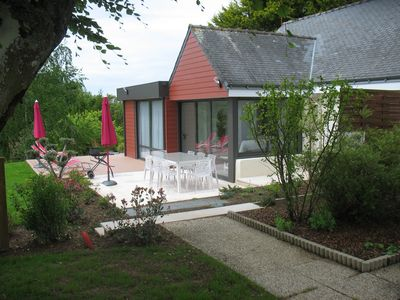 Photo for House 4 * WIFI Free pool 28 °; Tennis; Wooded park 15,000 m²; Car park