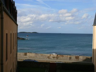 Photo for T3 Apartment Saint Malo Intramural with sea view at the foot of the ramparts