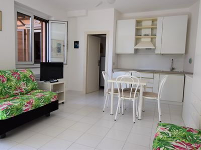 Photo for Charming Apartment Susy 2 On Beach Fetovaia with Garden; Parking Available, Pets Allowed