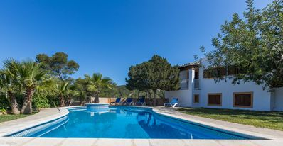 Photo for Catalunya Casas: Villa Vadella for 10 guests, only 5 minutes to Ibiza beaches!