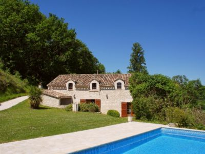 Photo for Regaussou character property, 5 ha, secluded, nature, panorama, relaxation, air conditioning